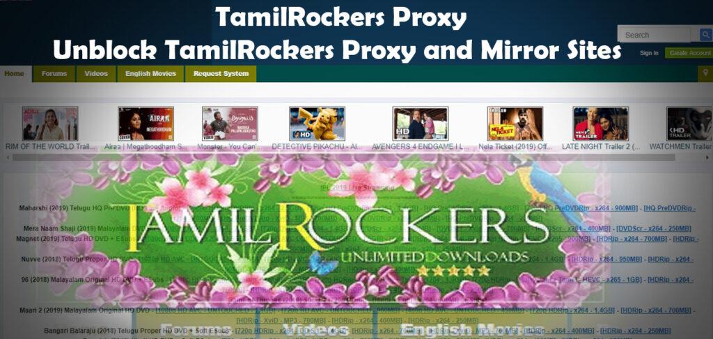 TamilRockers Proxy   Unblock Tamilrockers Proxy and Mirror Sites