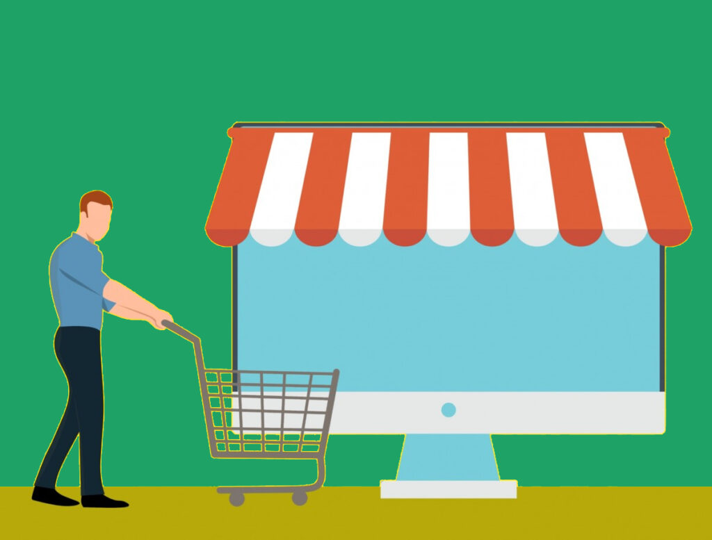 Compared to physical stores, what are the benefits of E-Commerce