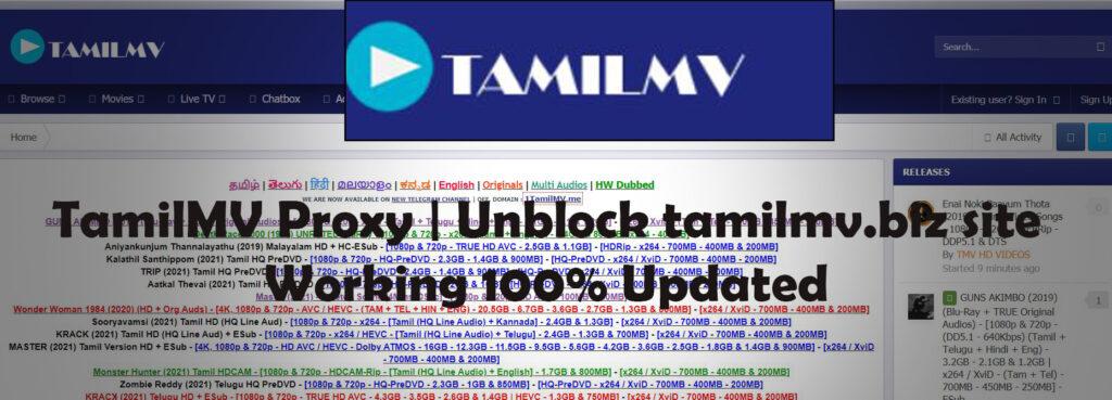 TamilMV Proxy   Unblock tamilmv.biz site, Working 100% Updated