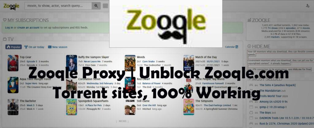 Zooqle Proxy   Unblock Zooqle.com Torrent sites, 100% Working