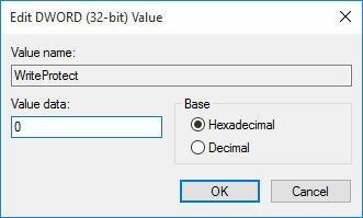 Edit Value Data in Registry
