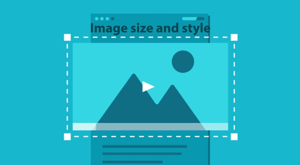 Image size and style