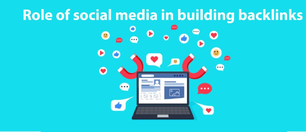 Role of social media in building backlinks