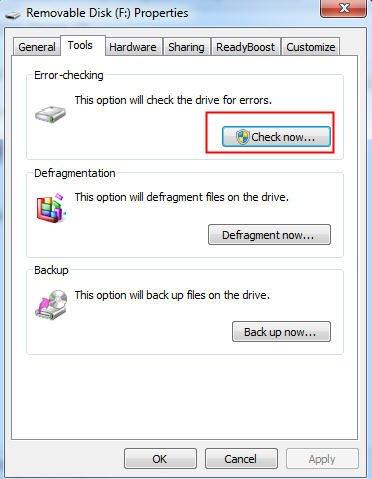 Windows Error Checking
