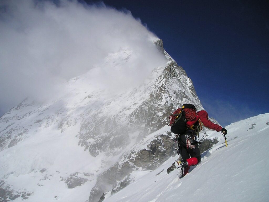 Required mountaineering skills
