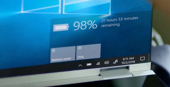 Battery Life On Windows 10